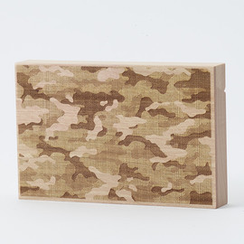 CEMENT PRODUCE DESIGN, Card Chest - camouflage / birch