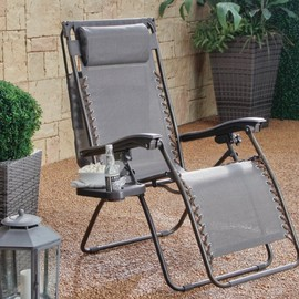 Coral Coast - Zero Gravity Recliner with Sunshade and Drink Tray