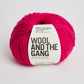 Wool and the Gang - Crazy Sexy Wool hot punk pink