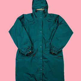 VINTAGE - Vintage L.L.Bean GORETEX Parka in Green WOMENS Size Small