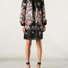 DOLCE & GABBANA - Floral Silk Dress