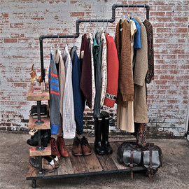 Stella bleu designs - Industrial Garment Rack Triple Level