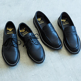 nanamica Dr. Martens - nanamica Dr. Martens Sultan MIE Officer Shoe Lytton MIE Penny Loafer