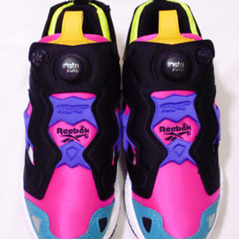 X-girl×Reebok Pump Fury