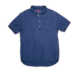 Best Made Company - The Short Sleeve Indigo Pullover