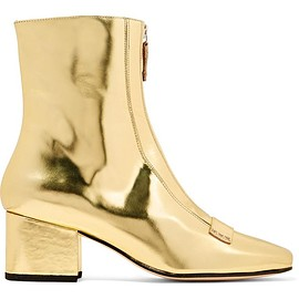 DORATEYMUR - Double Delta mirrored-leather ankle boots