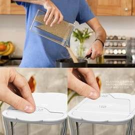 quirky - Silo - measuring food storage