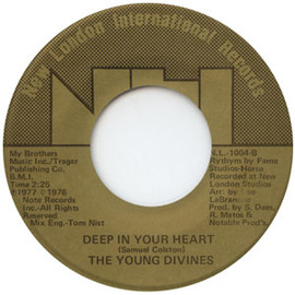 The Young Divines - Deep In Your Heart