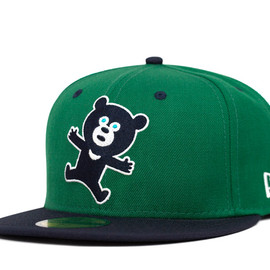 NEWERA×THE WONDERFUL ! DESIGN WORKS. - NEWERA×THE WONDERFUL ! DESIGN WORKS. 59FIFTY WDW BEAR SEALING LOGO KELLY