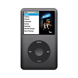 Apple - iPod classic 160GB (Black)