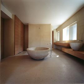 "Claudio Silvestrin architects - Bathroom from the ""P Penthouse"""