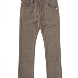 bal - C5 TAPERED TWEED JEAN