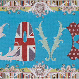 Paul Smith - LOVE wallhanging from SATC
