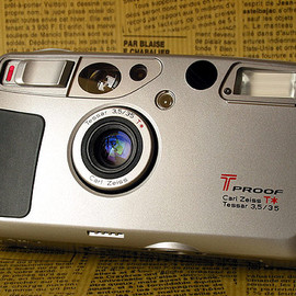 KYOCERA - T PROOF = YASHICA T4 SUPER