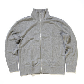 LOOPWHEELER - Cotton with cashmere narrow jacket