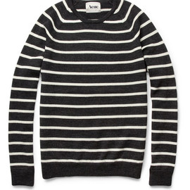 Acne - Sagan Striped Wool Sweater