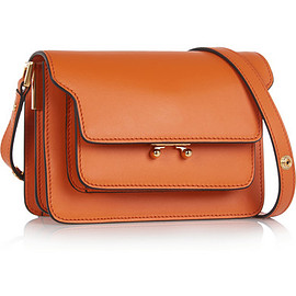 MARNI - Trunk mini leather shoulder bag