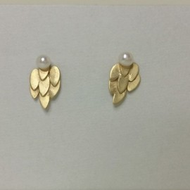 tomel jewelry - 羽ピアス