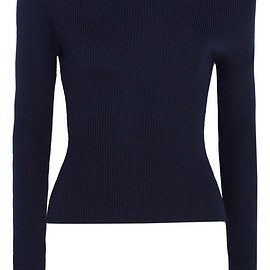 Jacquemus - One-shoulder ribbed wool sweater