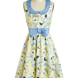 Modcloth - All the World's a Birdcage Dress