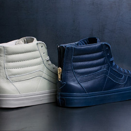 VANS - vans sk8 hi zip leather holiday available 1 Van CA Sk8 Hi Zip Leather