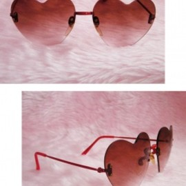 "1970's Vintage ""HEART SHAPED"" Sunglasses"