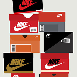 Stephen Cheetham - Sneaker Boxes - Nike