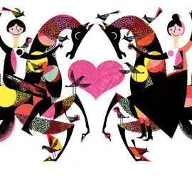 Join Together - Lesley Barnes Illustration
