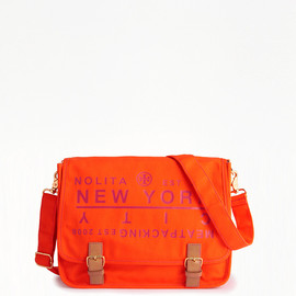 TORY BURCH - Traveler Messenger orange