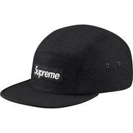 Supreme - Wool Herringbone Camp Cap
