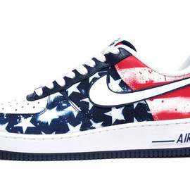 """NIKE - AIR FORCE I 07 """"INDEPENDENCE DAY"""" """"LIMITED EDITION for ICONS"""""""