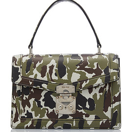 miu miu - FW2019 Camo Print Top Handle Bag
