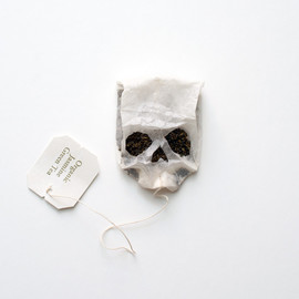 Noah Scalin - Skull teabag