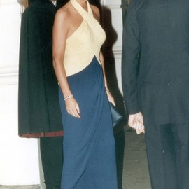 Lady Diana - Color Blocked Gown