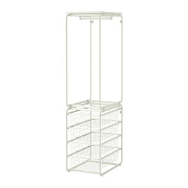 IKEA - ALGOT Frame with rod/wire baskets IKEA