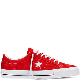 Converse CONS - One Star Hairy Suede Red