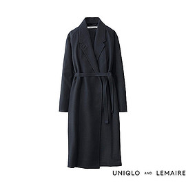 UNIQLO and LEMAIRE - ウールカシミヤローブコート