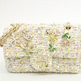 CHANEL - pastel tweed bag
