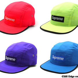 SUPREME - Bright Nylon Camp Cap