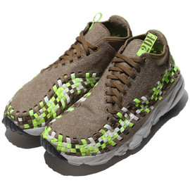 NIKE - Air Footscape Woven Chukka - Wool Pack (Light Brown)