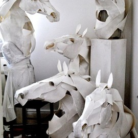 Anna-Wili Highfield - The paper sculptures