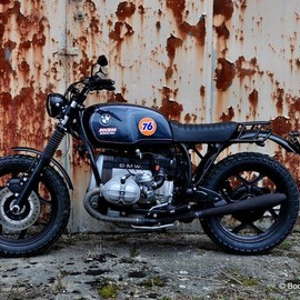 BMW - R80 RT Scrambler with R100 Powerkit Cafe Racer Custom