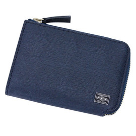 PORTER - COIN&PASS CASE (Navy)