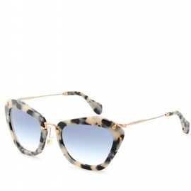 Miu Miu  - CAT EYE TORTOISESHELL-ACETATE SUNGLASSES