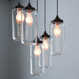 west elm - 5-Jar Chandelier