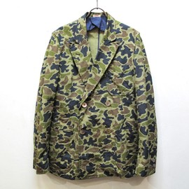 Kaptain Sunshine - captain's double breasted camouflage jkt