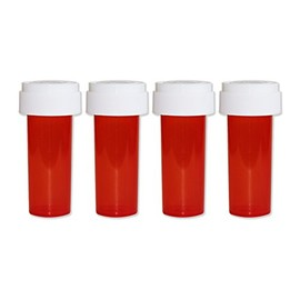 LIXTICK - ピルケース - Medicine Pill CASE 【Small】 4PACK (RED)