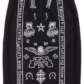 KTZ - Church embroidery skirt KTZ