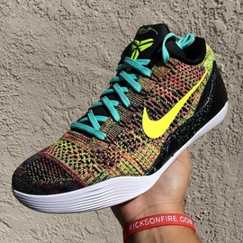 "Nike - ""Multicolor"" Nike Kobe 9 Elite Low iD"