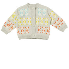 BonnieBaby - Bonnie baby cotton cashmere jacket 'PANDA'